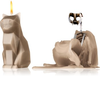54 Celsius PyroPet KISA (Cat) decorative candle grey