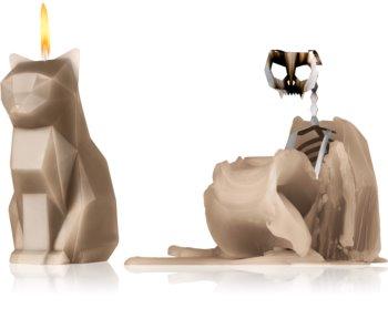 54 Celsius PyroPet KISA (Cat) dekorativ ljusstake grå