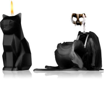 54 Celsius PyroPet KISA (Cat) dekorativ ljusstake Svart
