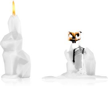 54 Celsius PyroPet HOPPA (Bunny) dekorativ ljusstake White