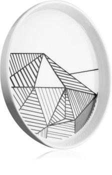 54 Celsius Accessories Porcelain Plate svícen na vonnou svíčku