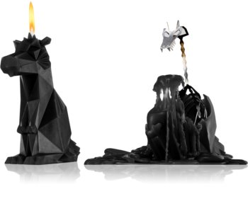 54 Celsius PyroPet DREKI (Dragon) candela decorativa Black