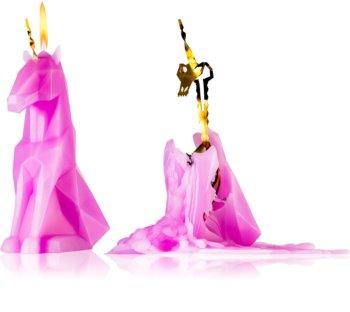 54 Celsius PyroPet EINAR (Unicorn) dekoratívna sviečka lilac