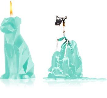 54 Celsius PyroPet VOFFI (Dog) dekorativní svíčka mint