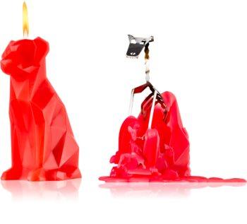 54 Celsius PyroPet VOFFI (Dog) dekoratívna sviečka berry