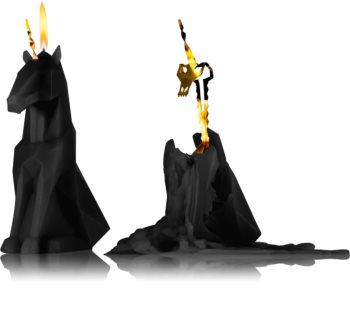 54 Celsius PyroPet EINAR (Unicorn) Koristeellinen Kynttilä Musta I.