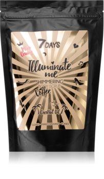 7DAYS ILLUMINATE ME Miss Crazy kávový tělový peeling