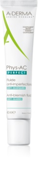 A-Derma Phys-AC Perfect Corrigerende Fluid  voor Vette en Problematische Huid
