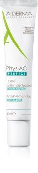 A-Derma Phys-AC Perfect коректуючий флюїд для жирної та проблемної шкіри
