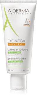 A-Derma Exomega crema corpo emolliente per per pelli molto secche, sensibili e atopiche