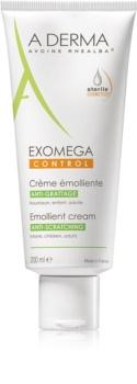 A-Derma Exomega crema corporal suavizante para pieles muy secas, sensibles y atópicas