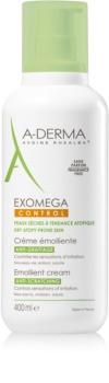 A-Derma Exomega омекотяващ крем за тяло за много суха чуствителна и атопична кожа