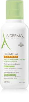 A-Derma Exomega απαλυντική κρέμα για το σώμα για πολύ ξηρό ευαίσθητο και ατοπικό δέρμα