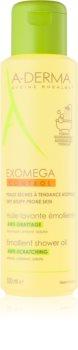 A-Derma Exomega зволожувальна олійка для душу для сухої та атопічної шкіри