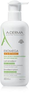 A-Derma Exomega Silkig kroppsmjölk mjölk För mycket torr känslig och atopisk hud