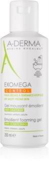A-Derma Exomega gel espumoso suavizante para pele seca a atópica