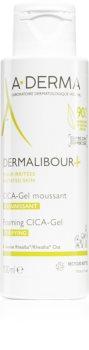 A-Derma Dermalibour+ gel moussant doux pour peaux irritées