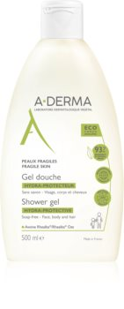 A-Derma Hydra-Protective Ekstrablød familie brusegel