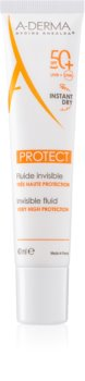A-Derma Protect fluid nawilżająco-ochronny SPF 50+