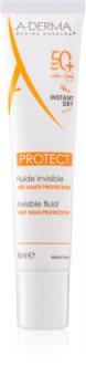 A-Derma Protect зволожуючий захисний флюїд SPF 50+