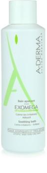 A-Derma Exomega banho relaxante para pele sensível e atópica