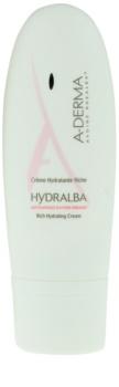 A-Derma Hydralba crème hydratante pour peaux sèches