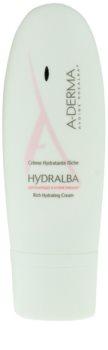 A-Derma Hydralba хидратиращ крем  за суха кожа