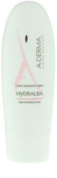 A-Derma Hydralba crème hydratante pour peaux normales à mixtes