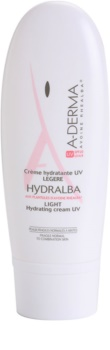 A-Derma Hydralba зволожуючий крем для нормальної та змішаної шкіри SPF 20