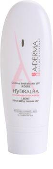 A-Derma Hydralba Hydraterende Crème voor Normale tot Gemengde Huid SPF 20