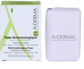 A-Derma Original Care дерматологично кубче за миене за чувствителна и раздразнена кожа