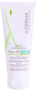 A-Derma Phys-AC Hydra krem nawilżający do skóry podrażnionej i wysuszonej po leczeniu trądziku