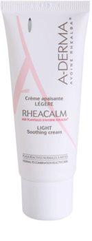 A-Derma Rheacalm Kalmerende Crème  voor Normale tot Gemengde Huid