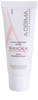 A-Derma Rheacalm Odżywczy krem łagodzący do skóry suchej