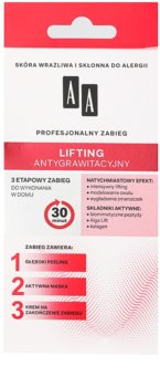 AA Cosmetics 3 Step cuidado lifting