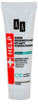 AA Cosmetics Help Acne Skin umirujuća noćna krema s regenerirajućim učinkom