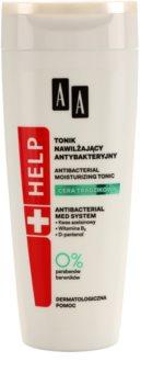 AA Cosmetics Help Acne Skin lotion tonique hydratante pour peaux à problèmes