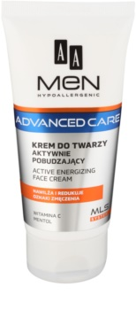 AA Cosmetics Men Advanced Care енергизиращ крем за лице