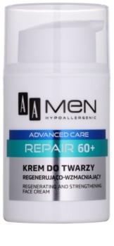 AA Cosmetics Men Advanced Care odnawiający regenerujący krem  60+