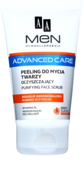 AA Cosmetics Men Advanced Care Rensegel skrub til ansigt