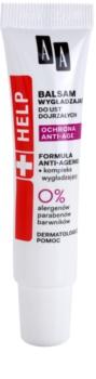 AA Cosmetics Help Anti-Age Protection vyhladzujúci balzam na pery