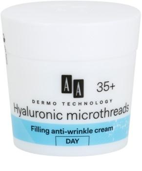 AA Cosmetics Dermo Technology Hyaluronic Microthreads Utfyllande fuktgivare mot rynkor  35+