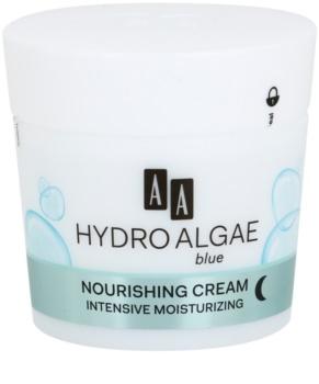 AA Cosmetics Hydro Algae Blue odżywczy krem nawilżający