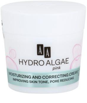 AA Cosmetics Hydro Algae Pink выравнивающий крем для увлажнения кожи и сужения пор