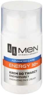 AA Cosmetics Men Energy 30+ creme energizante para rosto