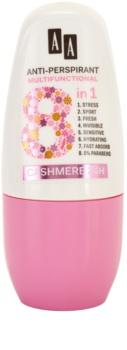 AA Cosmetics Multifunctional Cashmere 24H Antitranspirant-Deoroller 8 in 1