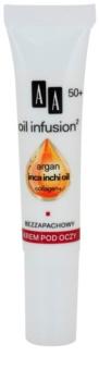 AA Cosmetics Oil Infusion2 Argan Inca Inchi 50+ Återställande kräm för ögonen