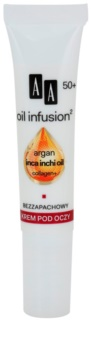 AA Cosmetics Oil Infusion2 Argan Inca Inchi 50+ восстанавливающий крем для области вокруг глаз
