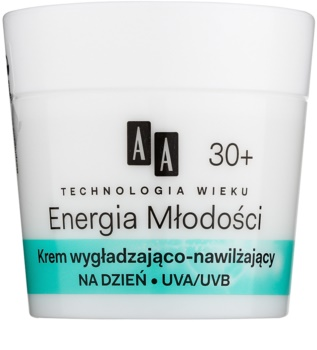 AA Cosmetics Age Technology Youthful Vitality Hydraterende en Egaliserende Gezichtscrème 30+