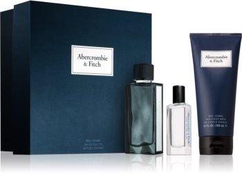 Abercrombie & Fitch First Instinct Blue dárková sada M. pro muže